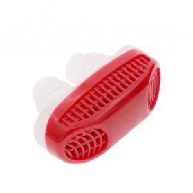 Samifun Anti Ngorok Pernafasan Hidung Stop Snoring Solution - MX-555 - Red