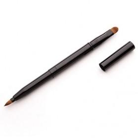 Lip Brush Make Up Double Headed - Black