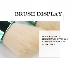 Shell Brush Make Up 7 Set - Green - 5