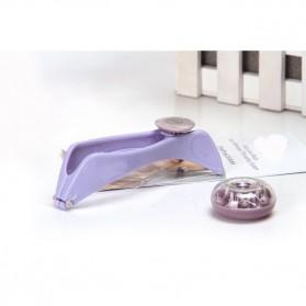Alat Kecantikan Pencukur Rambut Halus Wajah - Purple - 3