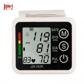 JZIKI Pengukur Tekanan Darah Electronic Sphygmomanometer with Voice - JZK-002R - Black - 3
