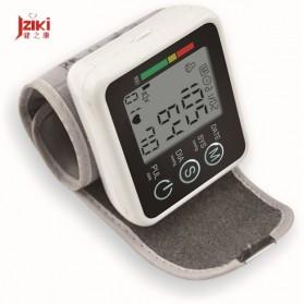 JZIKI Pengukur Tekanan Darah Electronic Sphygmomanometer with Voice - JZK-002R - Black - 5