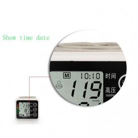 JZIKI Pengukur Tekanan Darah Electronic Sphygmomanometer with Voice - JZK-002R - Black - 7