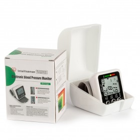 JZIKI Pengukur Tekanan Darah Electronic Sphygmomanometer with Voice - JZK-002R - Black - 9