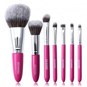 UCANBE Brush Make Up 7 Set - Rose