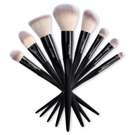 UCANBE Brush Make Up 8 Set - Black