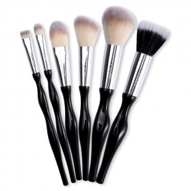 UCANBE Brush Make Up 6 Set - Black