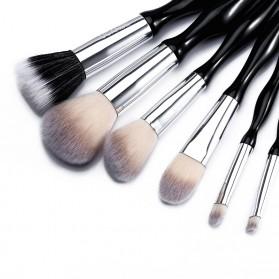 UCANBE Brush Make Up 6 Set - Black - 2
