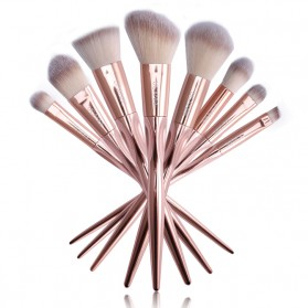 UCANBE Real Taper Brush Make Up 8 Set - Golden