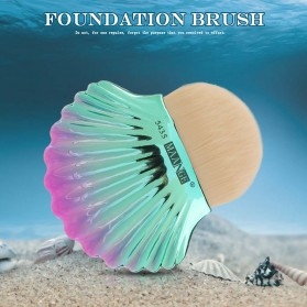 MAANGE Shell Brush Make Up Blush On Foundation - MAG5435 - Green - 8