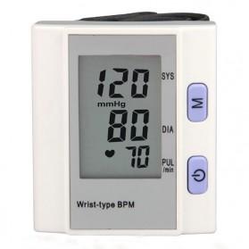 Pengukur Tekanan Darah Sphygmomanometer Electronic - BP-201M - White - 2