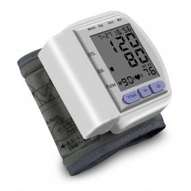 TECHNU Gelang Pengukur Tekanan Darah Elektronik Sphygmomanometer - CK-102S - White - 2