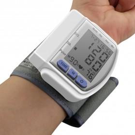 TECHNU Gelang Pengukur Tekanan Darah Elektronik Sphygmomanometer - CK-102S - White - 3
