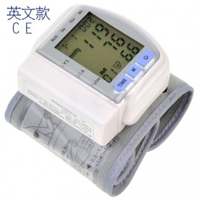 TECHNU Gelang Pengukur Tekanan Darah Elektronik Sphygmomanometer - CK-102S - White - 4