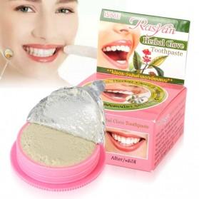 RASYAN Pasta Pemutih Gigi Herbal 25g - Pink