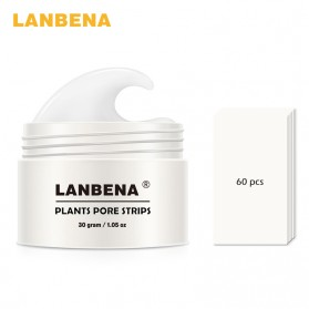 LANBENA Strip Pembersih Komedo Blackhead Remover Acne Peeling - White
