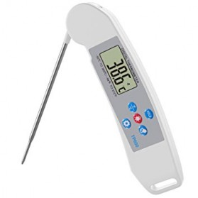 Digital Food Thermometer for Kitchen Cooking BBQ - TP600 - White