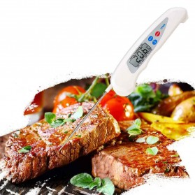 Digital Food Thermometer for Kitchen Cooking BBQ - TP608 - White