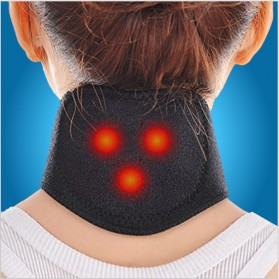 Terapi Leher Magnetic Tourmaline Therapy Neck Massager - DA-3484 - Black