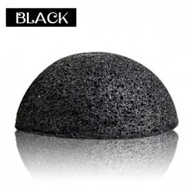 Konjac Sponge Pembersih Muka Exfoliator Facial Care Cleanse - Black