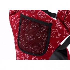 Tas Gendong Bayi Mummy Bag 4-6 Bulan - Navy Blue - 3