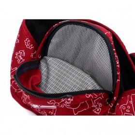 Tas Gendong Bayi Mummy Bag 4-6 Bulan - Navy Blue - 4