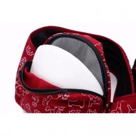Tas Gendong Bayi Mummy Bag 4-6 Bulan - Navy Blue - 5