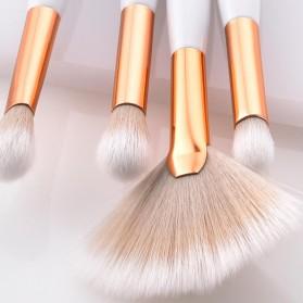 Maquiagem Brush Make Up 8 Set - T-08-050 - White/Gold - 6