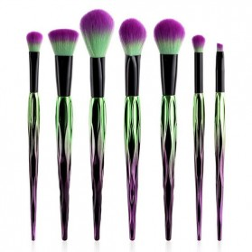 Artistic Brush Make Up 7 Set - Green