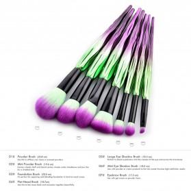 Artistic Brush Make Up 7 Set - Green - 2