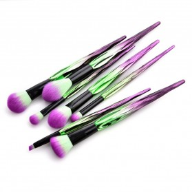 Artistic Brush Make Up 7 Set - Green - 4