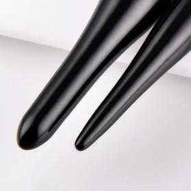 Soft Synthetic Brush Make Up 2 Set - Black - 5