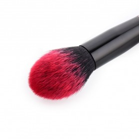 Gradient Handle Brush Make Up 5 Set - Red - 4