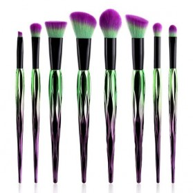 Artistic Brush Make Up 8 Set - Green