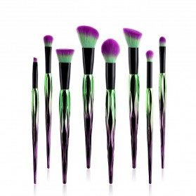 Artistic Brush Make Up 8 Set - Green - 3