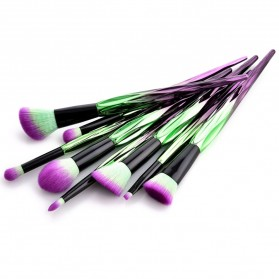 Artistic Brush Make Up 8 Set - Green - 4