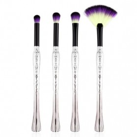 Mermaid Kosmetik Brush Make Up 4 Set - Purple