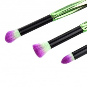 Artistic Brush Make Up 10 Set - Green - 5