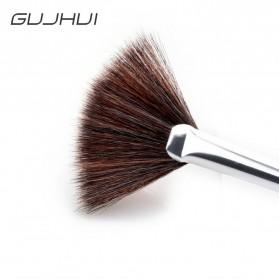 Professional Kosmetik Brush Make Up 4 Set - Black - 6