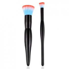 High Quality Kosmetik Brush Make Up 2 Set - Black - 1