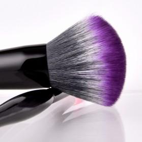 Professional Mushroom Brush Make Up 2 Set - Purple - 4