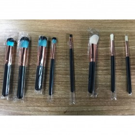 Beautiful Brush Make Up 8 Set - Black