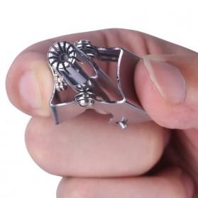 Kemei Trimmer Cukur Bulu Hidung Manual - KM-108 - Silver - 4