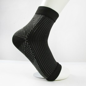 Kaos Kaki Anti Fatigue Compression Socks - L/XL - Black