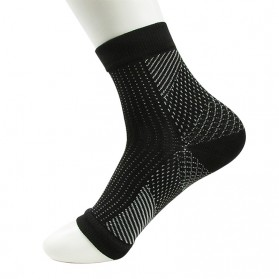 ECMLN Kaos Kaki Anti Fatigue Compression Socks Size L/XL - D-A11309 - Black - 2