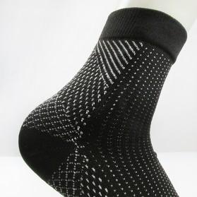 ECMLN Kaos Kaki Anti Fatigue Compression Socks Size L/XL - D-A11309 - Black - 3