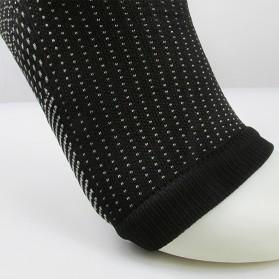 ECMLN Kaos Kaki Anti Fatigue Compression Socks Size L/XL - D-A11309 - Black - 4
