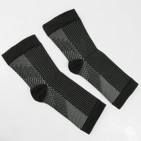 ECMLN Kaos Kaki Anti Fatigue Compression Socks Size L/XL - D-A11309 - Black - 5