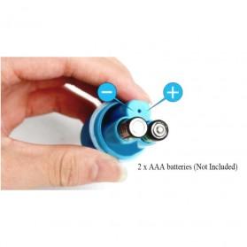 Egg Tickler Vibrator Wireless Alat Pijat Elektrik Multifungsi with Remote QY-013 - Black - 4
