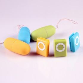 Egg Tickler Vibrator Wireless Alat Pijat Elektrik Multifungsi with Remote QY-013 - Black - 5
